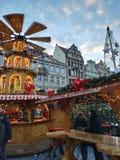 De stemming van Kerstmis stock foto's