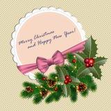 De stemming van Kerstmis Royalty-vrije Stock Fotografie
