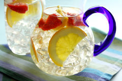 De Stempel van de sinaasappel en van de Aardbei Stock Foto's