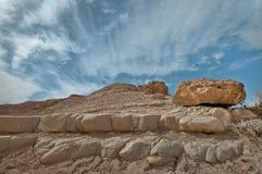 De stenen en de Hemel Royalty-vrije Stock Afbeeldingen