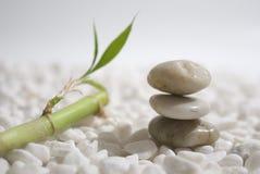 De stenen en het bamboe van Zen Royalty-vrije Stock Afbeeldingen