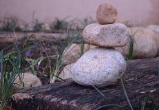 De stenen en het bamboe van Zen Royalty-vrije Stock Afbeelding