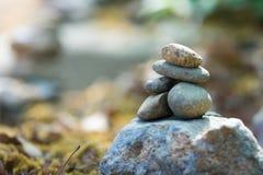 De stenen en het bamboe van Zen Royalty-vrije Stock Foto