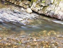 De stenen van de bergstroom Royalty-vrije Stock Foto