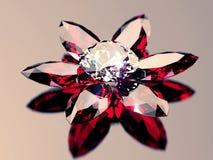 De stenen van de diamant Royalty-vrije Stock Foto