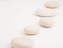 De stenen van de kiezelsteen Stock Afbeeldingen