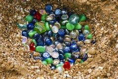De stenen van de kleur Stock Foto's