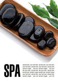 De Stenen van de massage Royalty-vrije Stock Foto