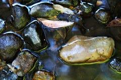De Stenen van de rivier stock afbeelding