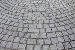 De stenen van de granietbestrating royalty-vrije stock foto