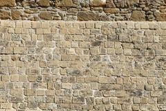 De stenen van het kasteel Stock Afbeelding