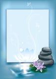 De stenen van het kuuroord royalty-vrije illustratie