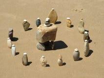 De Stenen van het strand Royalty-vrije Stock Afbeeldingen