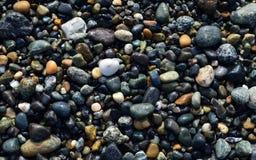 De stenen van het strand stock afbeelding