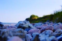 De stenen van het strand Royalty-vrije Stock Afbeelding