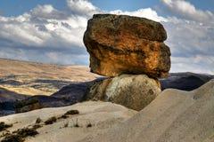 De stenen van Kapadokian Stock Afbeeldingen