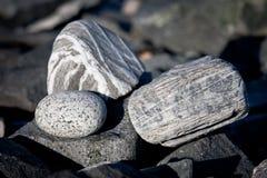De stenen van Peeble stock fotografie