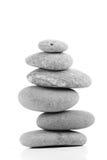 De stenen van Zen Royalty-vrije Stock Afbeeldingen