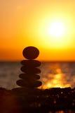 De stenen van Zen Royalty-vrije Stock Fotografie