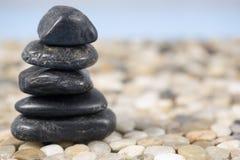 De Stenen van Zen Stock Afbeeldingen
