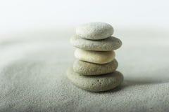 De stenen van Zen Royalty-vrije Stock Afbeelding