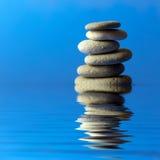 De stenen van Zen Royalty-vrije Stock Foto's