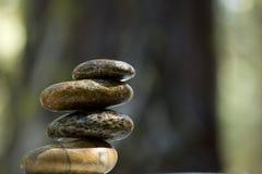 De stenen van Zen Royalty-vrije Stock Foto