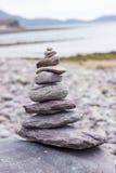 De stenen van Zen - kuuroordconcept Royalty-vrije Stock Foto's