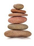 De stenen van Zen van de kleur Stock Fotografie