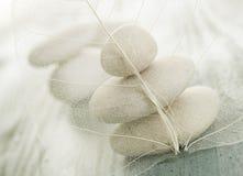 De Stenen van Zen van het kuuroord Royalty-vrije Stock Foto's