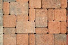 De stenenpatroon van het terras Stock Foto