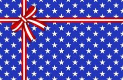 De ster abstract naadloos patroon van Amerika Royalty-vrije Stock Foto