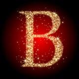De ster B van de brief Stock Foto