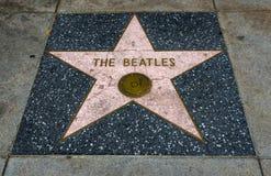De Ster van Beatles ` s, Hollywood-Gang van Bekendheid - 11 Augustus, 2017 - Hollywood-Boulevard, Los Angeles, Californië, CA Royalty-vrije Stock Foto's