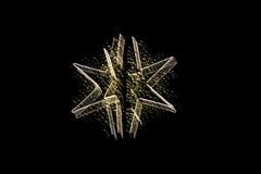 De ster van Christmass Stock Afbeeldingen