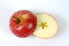 De ster van de appel royalty-vrije stock fotografie