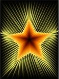 De ster van de brand Stock Foto's