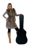 De ster van de country muziek Royalty-vrije Stock Foto's