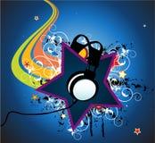De ster van de disco stock afbeeldingen