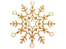 De ster van de sneeuw Royalty-vrije Stock Afbeeldingen