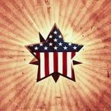 De ster van de V.S. Royalty-vrije Stock Afbeelding