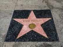 De Ster van Elvis Presley ` s, Hollywood-Gang van Bekendheid - 11 Augustus, 2017 - Hollywood-Boulevard, Los Angeles, Californië,  Royalty-vrije Stock Foto