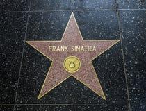 De Ster van Frank Sinatra ` s, Hollywood-Gang van Bekendheid - 11 Augustus, 2017 - Hollywood-Boulevard, Los Angeles, Californië,  Royalty-vrije Stock Foto's