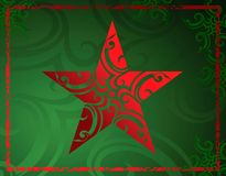 De ster van Grunge Royalty-vrije Stock Afbeeldingen