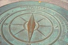 De ster van het het Capitoolkompas van Verenigde Staten Royalty-vrije Stock Fotografie