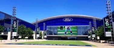 De ster van het de Cowboysgebied van Ford Center Dallas TX royalty-vrije stock afbeelding