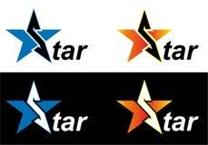 De ster van het embleem Royalty-vrije Stock Afbeelding