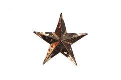 De ster van het metaal Royalty-vrije Stock Foto's