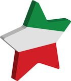De ster van Italië Royalty-vrije Stock Foto