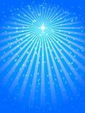 De ster van Kerstmis Stock Foto's
